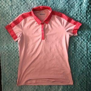 Ladies Adidas Climacool Golf Shirt - Small